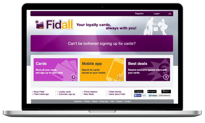 Fidall - Website and Mobile Apps